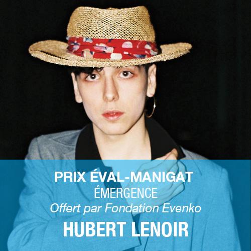 Laureats-2018_Hubert_Lenoir